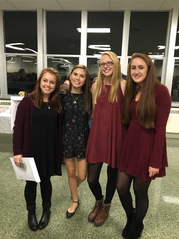 More fabulous Alums who were inducted into NHS! Way to go ladies!