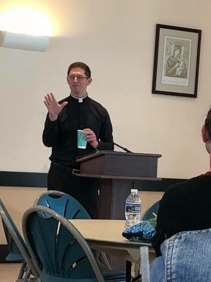 Fr. Chris Seith, alumni of SPX, presided over our Faculty Retreat 2018. What a gift!